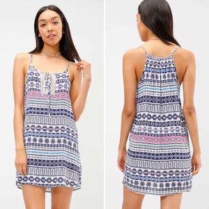 NEW Tribal Print Dress | Navy